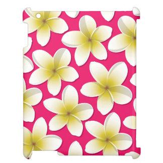 Bright Frangipani/ Plumeria flowers Cover For The iPad