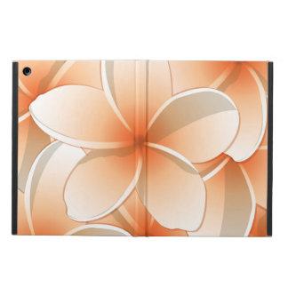 Bright Frangipani/ Plumeria flowers iPad Air Case