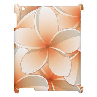 Bright Frangipani/ Plumeria flowers iPad Covers