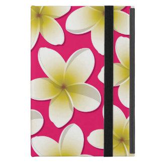 Bright Frangipani/ Plumeria flowers iPad Mini Covers