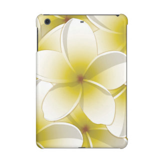 Bright Frangipani/ Plumeria flowers iPad Mini Retina Covers