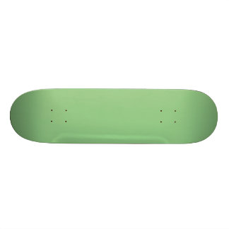 Bright Fresh Spring Mint Green Solid Color Skate Board