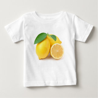 Bright & Fresh Yellow Lemons Baby T-Shirt