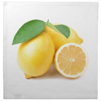 Bright & Fresh Yellow Lemons Napkin