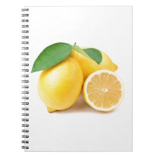 Bright & Fresh Yellow Lemons Notebook