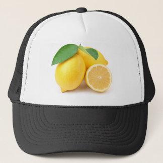 Bright & Fresh Yellow Lemons Trucker Hat