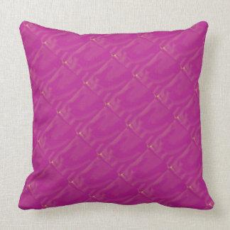 Bright Fuchsia Throw Pillow