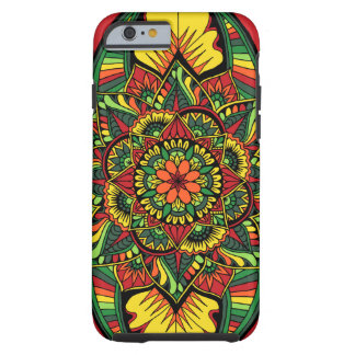 Bright Full Mandala Color 2 Tough iPhone 6 Case