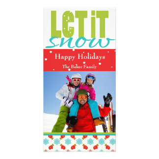 Bright, Fun, Customizable Holiday Card Photo Cards