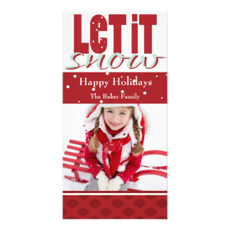 Bright, Fun, Customizable Holiday Card Picture Card