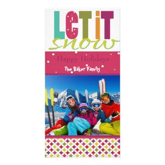 Bright, Fun, Customizable Holiday Card Photo Card