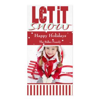Bright, Fun, Customizable Holiday Card Photo Card Template