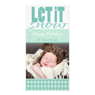 Bright, Fun, Customizable Holiday Card Personalized Photo Card
