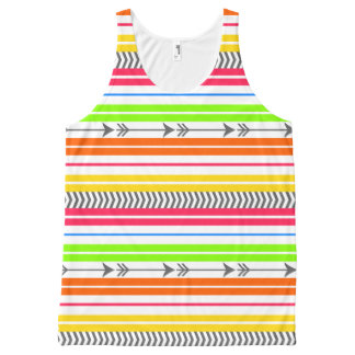 Bright Funky Stripes and Arrows