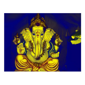 Bright Ganesh ! Postcard