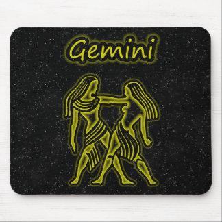 Bright Gemini Mouse Pad