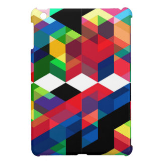Bright Geometric Diamond Pattern Cover For The iPad Mini