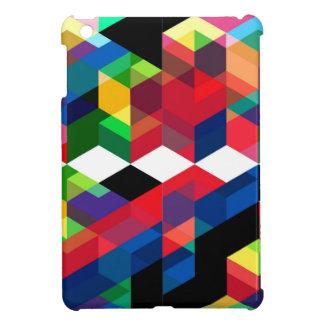 Bright Geometric Diamond Pattern iPad Mini Covers