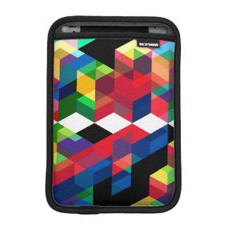 Bright Geometric Diamond Pattern iPad Mini Sleeve