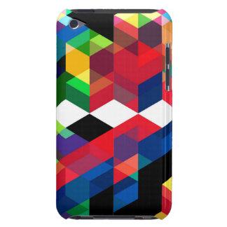 Bright Geometric Diamond Pattern iPod Touch Case