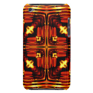 Bright golden waves barely there iPod case
