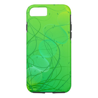 Bright Green Abstract Pattern iPhone 8/7 Case