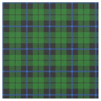 Bright green black blue stripe plaid print2 fabric