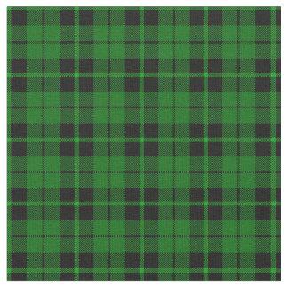 Bright green black green stripe plaid print2 fabric