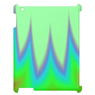 Bright Green Blue Peak Cover For The iPad