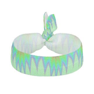 Bright Green Blue Peak Hair Tie