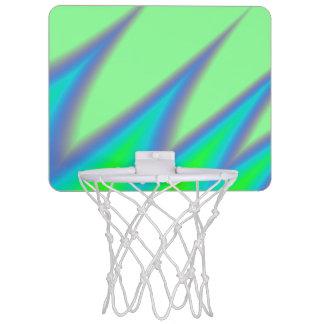 Bright Green Blue Peak Mini Basketball Hoop