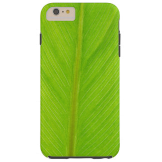 bright green fresh leaf tough iPhone 6 plus case