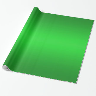 Bright Green Gradient - Emerald Greens Template Wrapping Paper