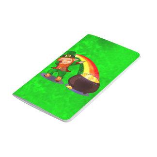 Bright green journal