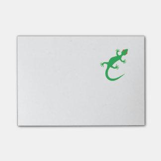 Bright Green Lizard Post-it® Notes