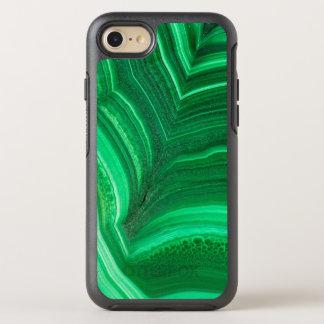 Bright green Malachite Mineral OtterBox Symmetry iPhone 7 Case