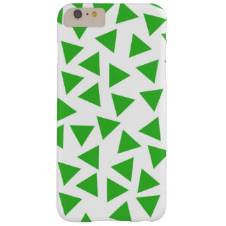 Bright Green Triangle Graphic Print Barely There iPhone 6 Plus Case