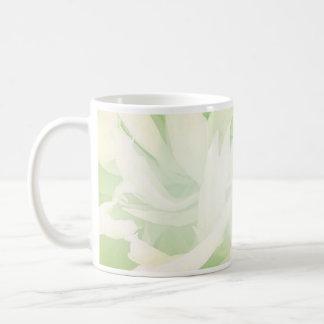 Bright Greenish Floral wedding gift Mug