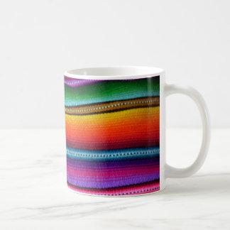 Bright Guatemalan Fabric Stripe Mug