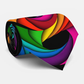 bright happy tie