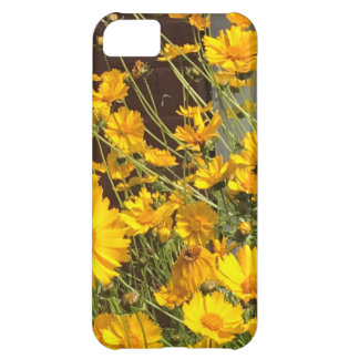 Bright happy yellow flowers in a bunch iPhone 5C case