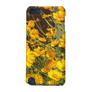 Bright happy yellow flowers in a bunch iPod touch (5th generation) case