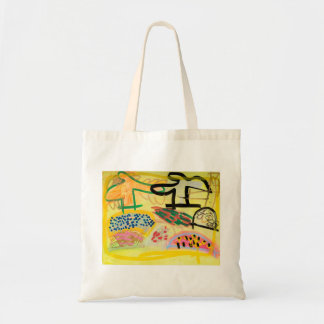 Bright Hills and Trees by Johnny Tote Bag
