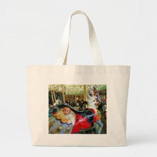 Bright Horse. Large Tote Bag