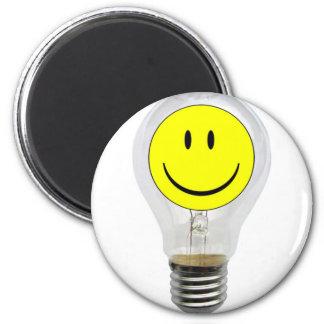 BRIGHT IDEA 2 INCH ROUND MAGNET