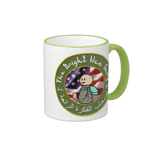 Bright Idea Fairy / Baghdad Cigar Club Coffee Mug