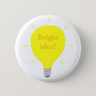 Bright idea! light bulb Affirmation buttons