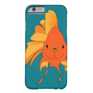 Bright Illustrated Goldfish Barely There iPhone 6 Case