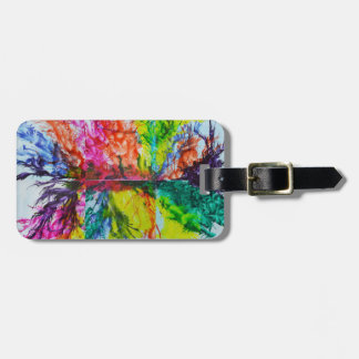 Bright Inky Colors Luggage Tag