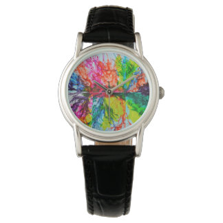 Bright Inky Colors Watch